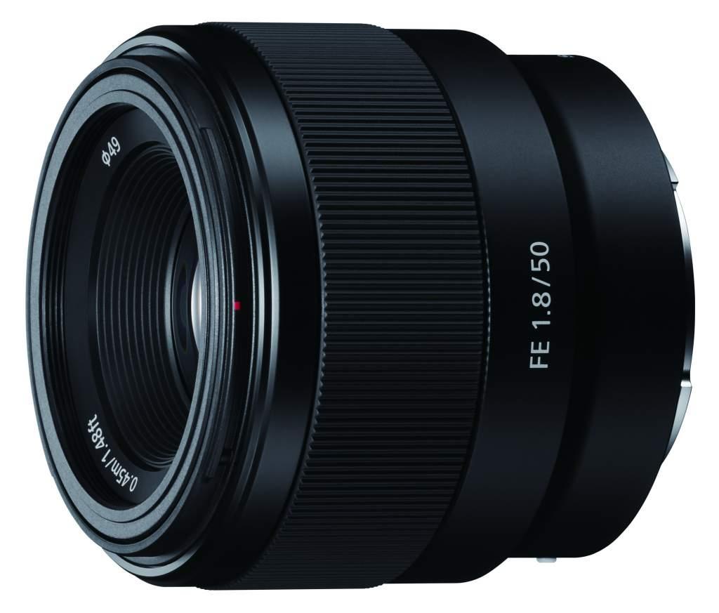 Obiektyw Sony FE 50 mm f/1.8
