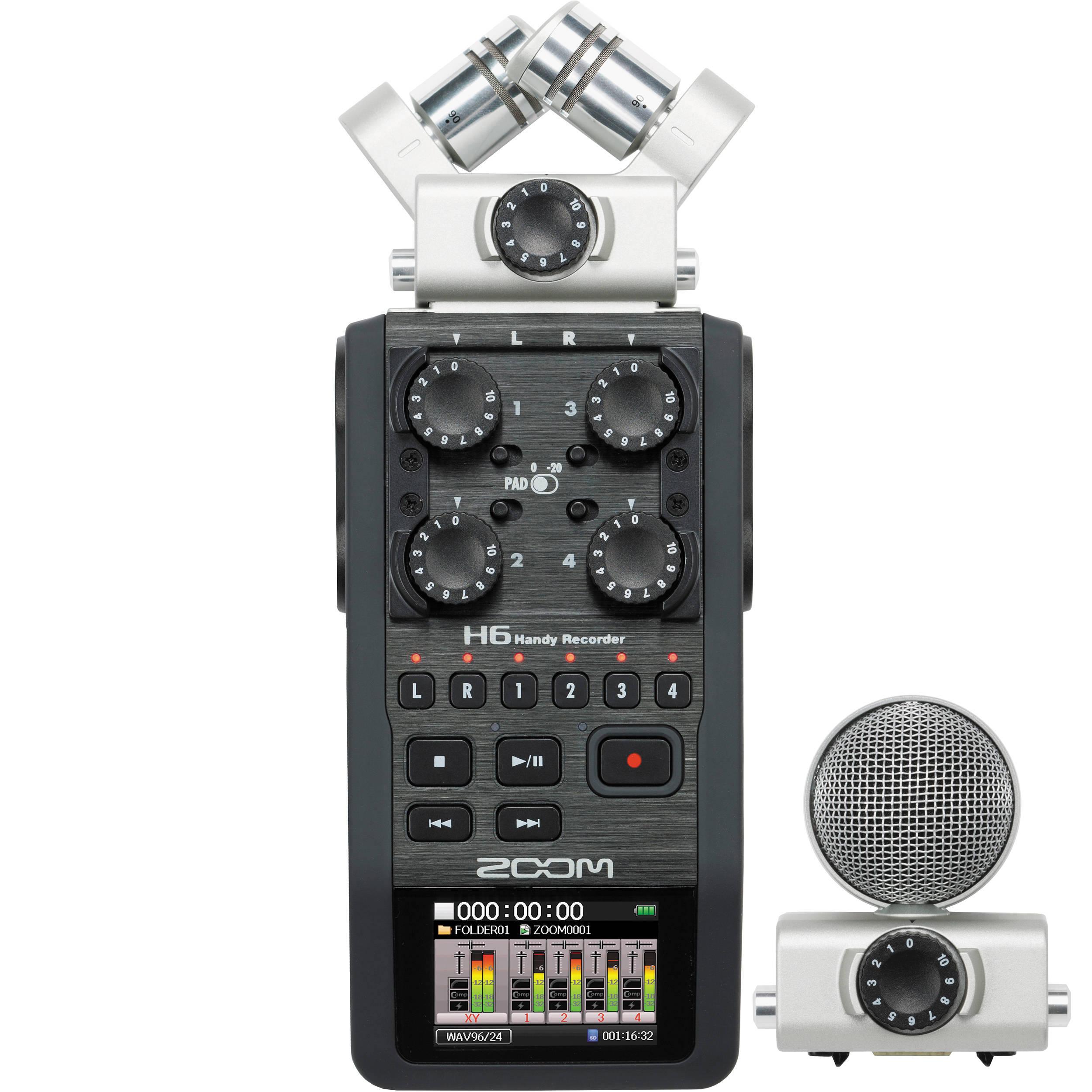 Rejestrator dźwięku ZOOM H6
